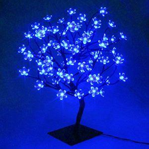Árbol luminoso de LEDs luz de hadas