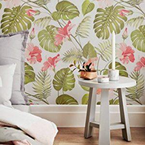 Papel pintado de flores defloresonline com - Papel pared autoadhesivo ...