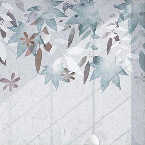 Papel tapiz estilo americano retro pastoral flor