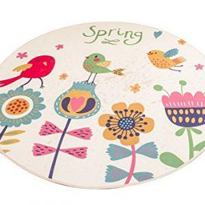 Alfombra redonda para el baño Spring