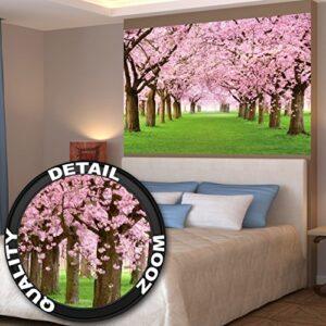 Póster mural flor del cerezo