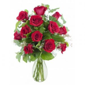 Ramo natural de rosas