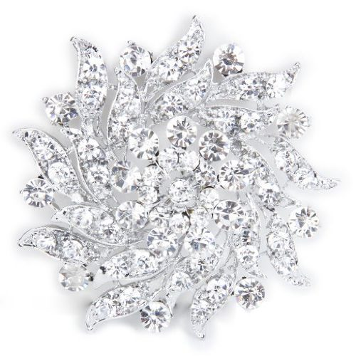 Broche Ramo De Diamantes
