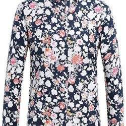 Camisa SSLR para Hombre de Manga Larga Estampada de Flores