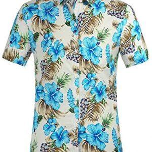 Camisa Hawaiana SSLR Hombre Manga Corta