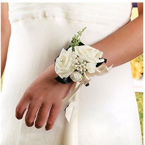 Pulsera SWUK color blanco crema