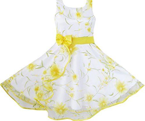 Vestido Sunny Fashion para niña colores