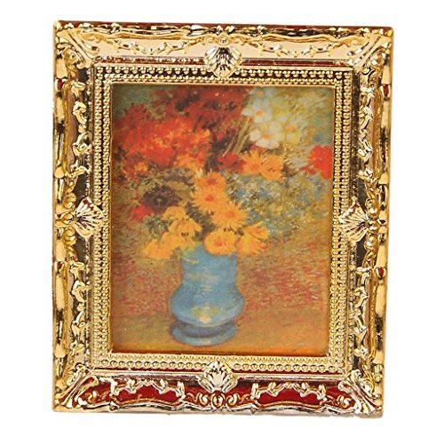 Pintura al oleo florero