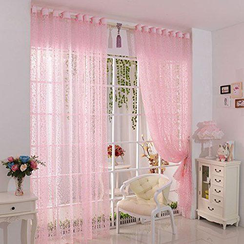 Cortina Tongshi rosa