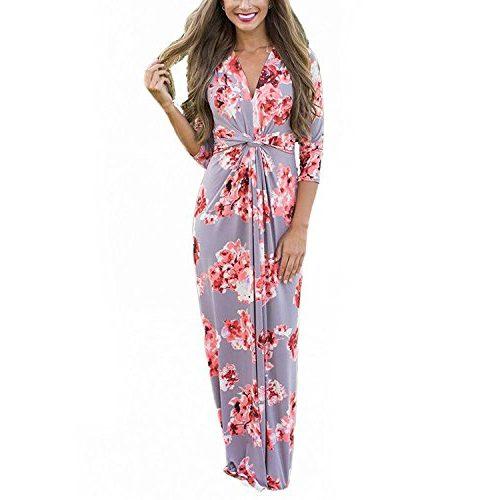 Vestido de gasa flor de cerezo
