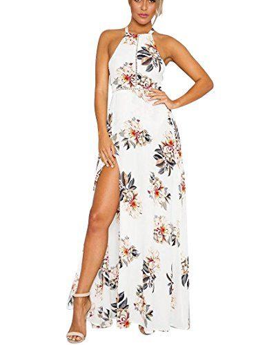 Vestido con estampado en flores