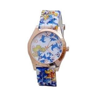 Reloj Vovotrade de silicona en azul