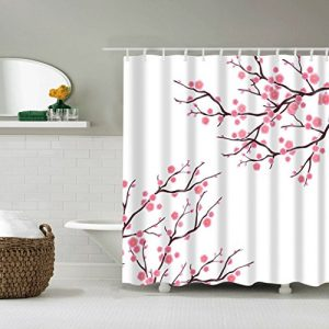 Cortinas de baño flor del almendro