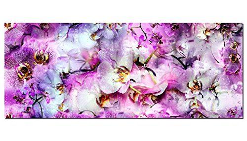 Alfombra de orquídeas (125 x 50 cm)