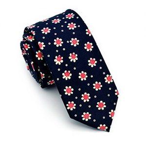 Corbata YCHENG floral