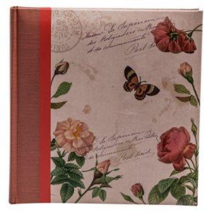 Álbum de mariposas y flores