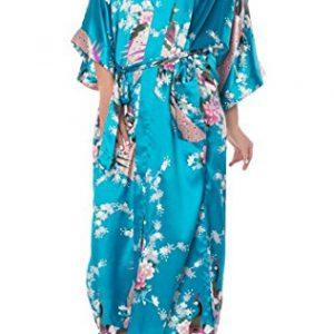 Pijama bata kimono de seda