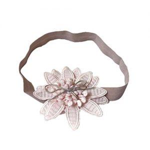 Cinta diadema con flor para el pelo
