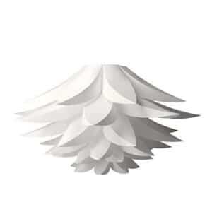 Lámpara en forma de lotus, flor blanca