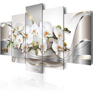 Cuadro moderno abstracto de flores