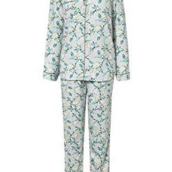 Pijama con botones y estampado de flores