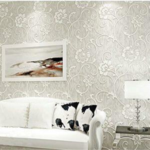 Papel pintado de flores defloresonline com - Papel pintado pared salon ...