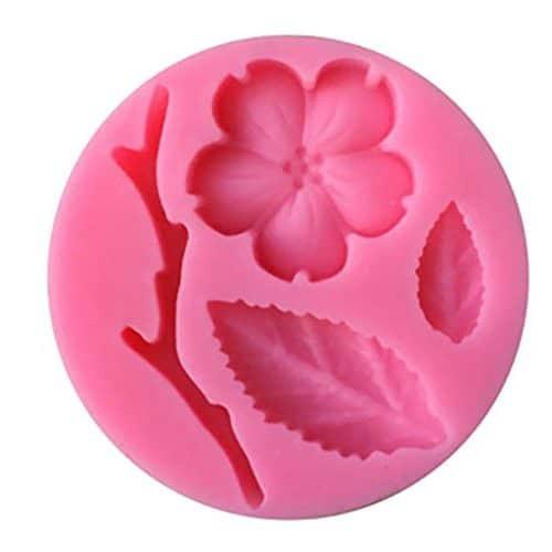 molde flor de melocotón