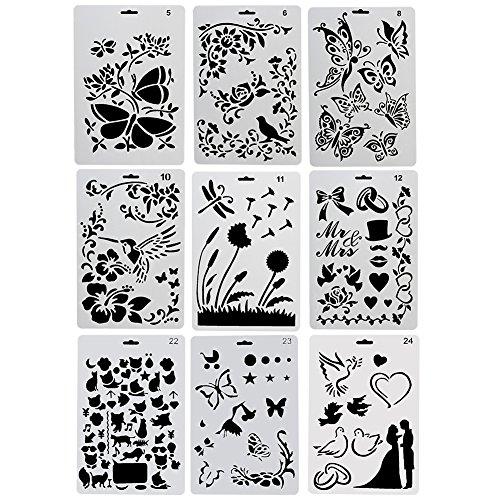 Plantillas de flores defloresonline com - Como hacer plantillas para pintar paredes ...